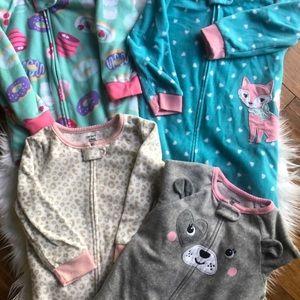 Carter's Pajama Bundle-4 pairs
